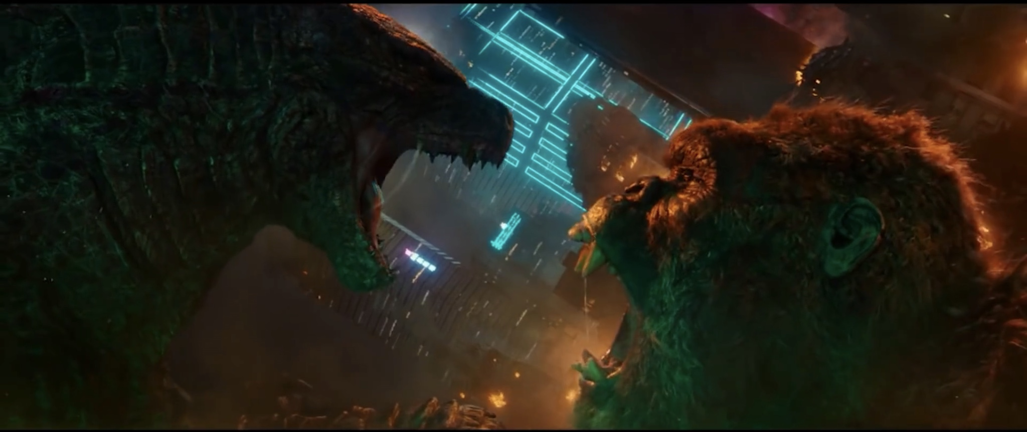 After three movies and an hour and a half, 'Godzilla vs. Kong' delivers |  Reel Entropy